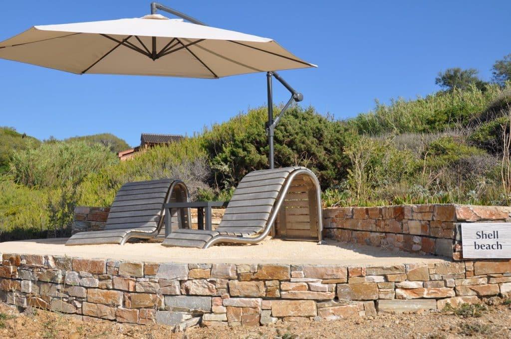 Shell private beach