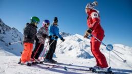 école de ski proche location appartement à la joue du loup