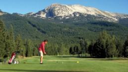 louer hébergement à la joue du loup avec activité golf