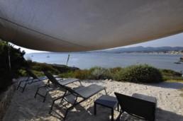 Chambres d'hôtes avec plage Palmetto privée dans le var
